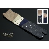 Japanese style TABI toe SOCKS 22 – 25 cm Ornaments