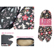 Japanese style house wear/guests room Tabi slippers Sakura Usagi 21-23cm