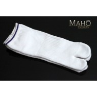 Cool Japanese style Sport Tabi socks: white 24-26cm