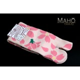 Amina MADE IN JAPAN TABI SOCKS: Cherry Sakura  23 – 25 cm