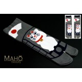 Cat MADE IN JAPAN Kyoto TABI SOCKS: Maneki neko  23 – 25 cm