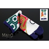 Amina MADE IN JAPAN TABI SOCKS: ウサギカメ 25-28 cm