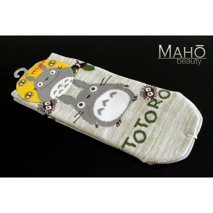 JAPANESE STYLE sneaker SOCKS: my Neighbor Totoro 22 – 25 cm grey