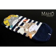 JAPANESE STYLE sneaker SOCKS: my Neighbor Totoro 22 – 25 cm blue