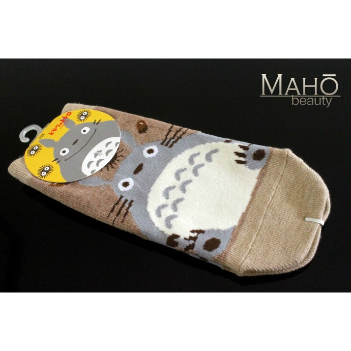 JAPANESE STYLE sneaker SOCKS: my Neighbor Totoro 22 – 25 cm brown