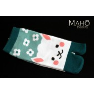 Cute Japanese TABI toe SOCKS: Sheep 22 – 24 cm