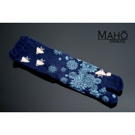 Cute Japanese TABI toe SOCKS: 千鳥 PLOVER 22 – 25 cm blue