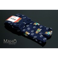 MADE IN JAPAN TABI SOCKS: SHIBA INU dog 22 – 25 cm blue