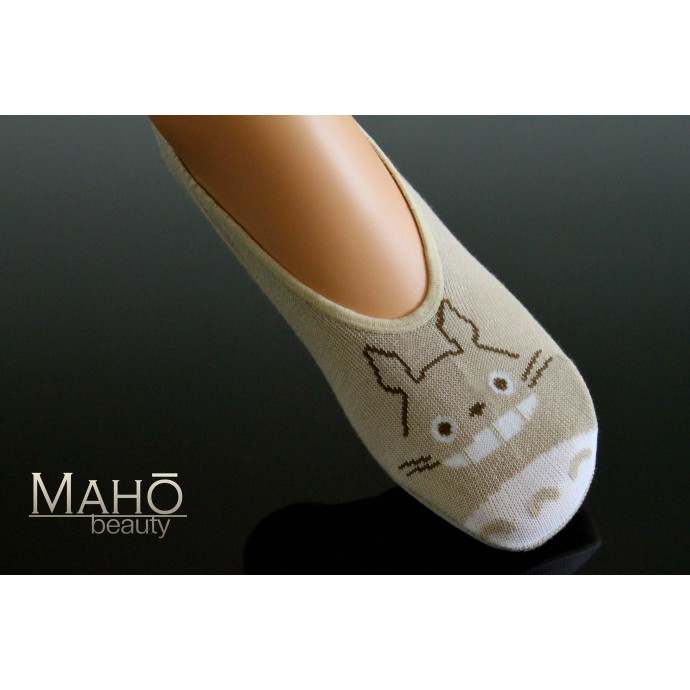 JAPANESE STYLE sneaker SOCKS: my Neighbor Totoro 21 – 23 cm brown