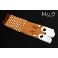 Cool Japanese style Kawaii Tabi socks: DEER 22-25 cm