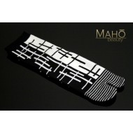 Cool Japanese style Tabi socks: Nagomi modern patterns 25-27 cm