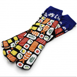 Cute Japanese style Kawaii Tabi socks: Sushi 22-25 cm