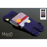 Warm MADE IN JAPAN TABI SOCKS: 冬至 Touji winter solstice 22 – 25 cm