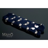 Cute fluffy and warm TABI SOCKS Usagi Rabbits 22 – 25 cm Blue