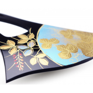 Elegant JAPANESE hair accessory - KANZASHI. Autumn flowers