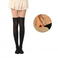 Stylish and Cute Print-Tattoo Stockings with nude top