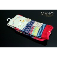 Lovely JAPANESE STYLE SOCKS: Pink patterns 22 – 25 cm