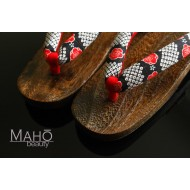 Geta - traditional Japanese wooden clogs sandals
