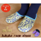 Japanese style women's house wear/guests room slippers Kukka pink