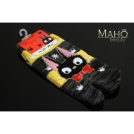 Cute Japanese style Tabi socks: KIKI'S DELIVERY SERVICE JIJI 23 to 25 cm