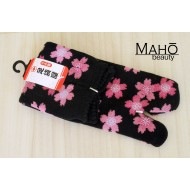 Lovely MADE IN JAPAN TABI SOCKS: Sakura 22 – 25 cm black
