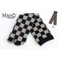 Japanese style Tabi socks: Adorable and functional: 市松 Ichimatsu 23-27 cm