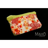 Lovely Japanese Cherry Sakura pouch cosmetic case bag
