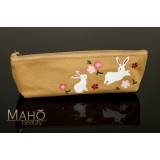 Lovely Kurochiku brand Cherry Rabbits pouch cosmetic case