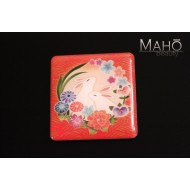 Cute Japanese design fridge magnet USagi Rabbit 44x42 mm