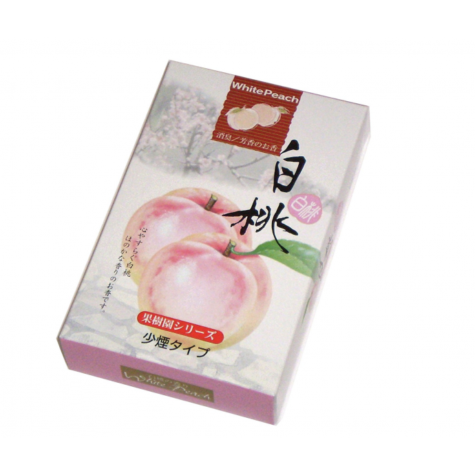 Momo Japanese Incense sticks: White Peach 白桃 190 sticks
