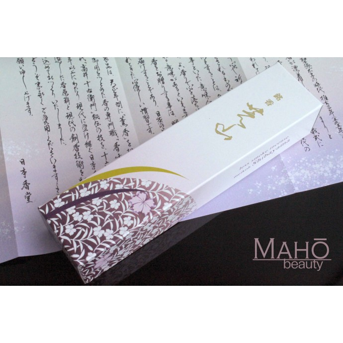 NIPPON KODO MEIKO SHIBAYAMA low smoke Incense Sticks