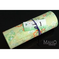 "Luxurious Japanese incense sticks in decorative box by Okuno Seimeido ""Shade of Spring leaves"" 100 g"