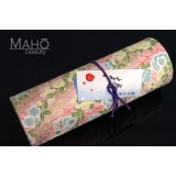Glamorous Japanese Tsubaki incense sticks in decorative box by OKUNO Seimeido Less smoke type