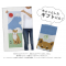Japanese Tenugui Cotton cloth towel Mt. Fuji and Shiba inu dog