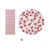 Plum Japanese Tenugui Cotton cloth towel Ume
