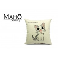 Lovely Anime Style Tabby kitty Chi's Sweet Home Square Pillow Case - Sublime