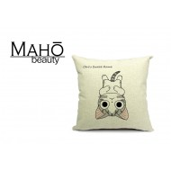 Lovely Anime Style Tabby kitty Chi's Sweet Home Square Pillow Case - Lying down