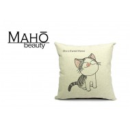Lovely Anime Style Tabby kitty Chi's Sweet Home Square Pillow Case - Delicious