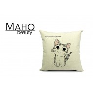 Lovely Anime Style Tabby kitty Chi's Sweet Home Square Pillow Case - Curious