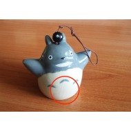 Japanese symbol of summer: Wind chime Furin Totoro SMALL DEFECT!