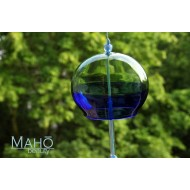 Charming and refreshing tinkle sound - TRADITIONAL JAPANESE WIND CHIME GLASS FURIN