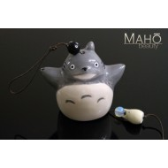 Japanese symbol of summer: Wind chime Furin Totoro