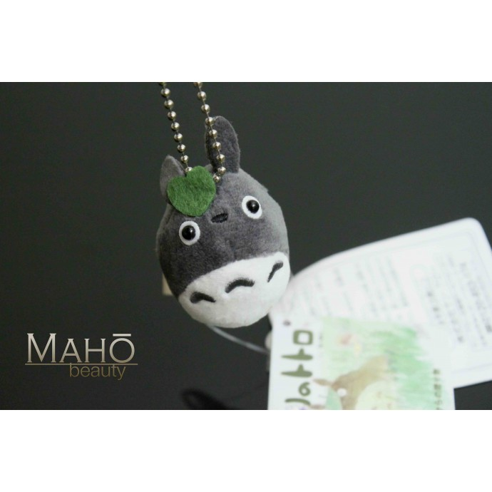 Adorable Ghibli My Neighbor Totoro Charm Doll Cell Phone Strap Keychain GREY